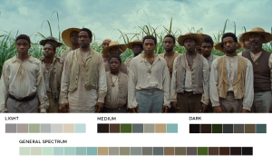12 years a slave color grade