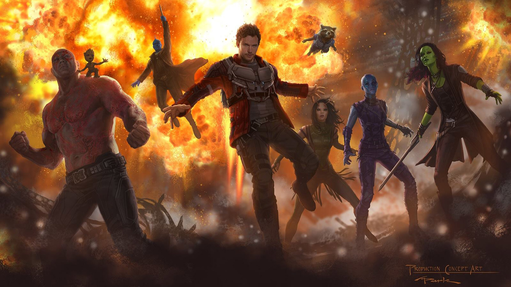Guardians Vol. 2 Concept Art