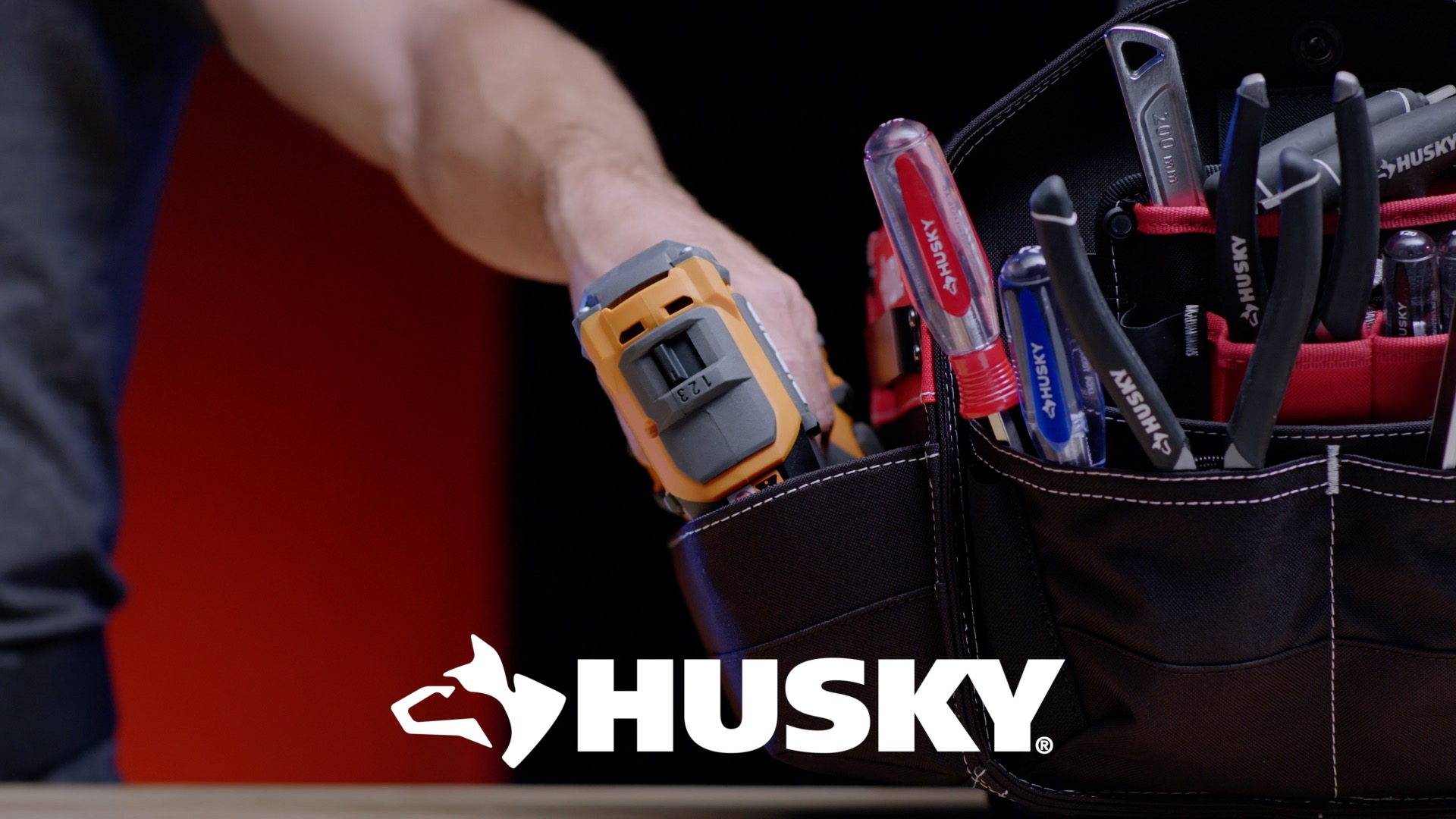 Husky Tool Pouch The Home Depot